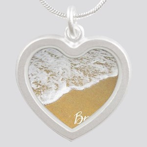 Just Breathe... Silver Heart Necklace