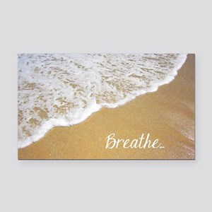 Just Breathe... Rectangle Car Magnet