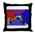 Beauty of the Arcade Throw Pillow