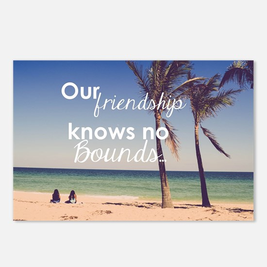 Friendship Knows No Bound Postcards (Package of 8)