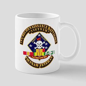 1st - Reconnaissance Bn w VNSVC Ribbon Mug
