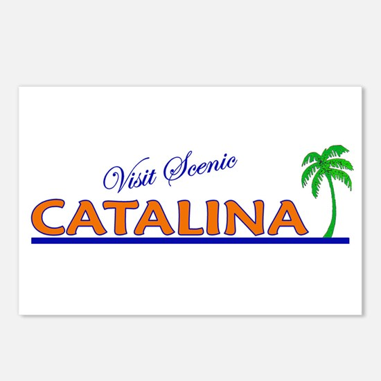 Visit Scenic Catalina Island, Postcards (Package o