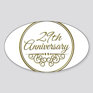 29th Anniversary Sticker