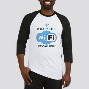 Whats The Wifi Password? Baseball Jersey