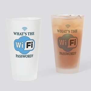 Whats The Wifi Password? Drinking Glass