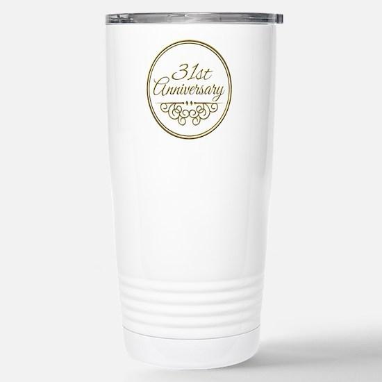 31st Anniversary Travel Mug