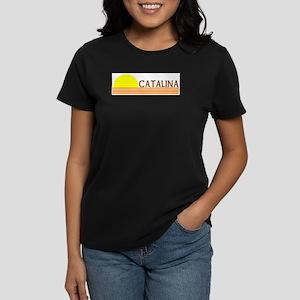 Catalina Island, California Women's Dark T-Shirt