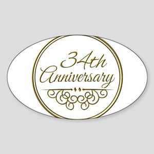 34th Anniversary Sticker