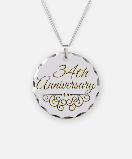 34th Anniversary Necklace