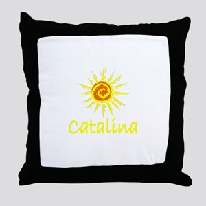 Catalina Island, California Throw Pillow