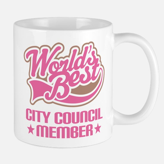 City Council Member Mug