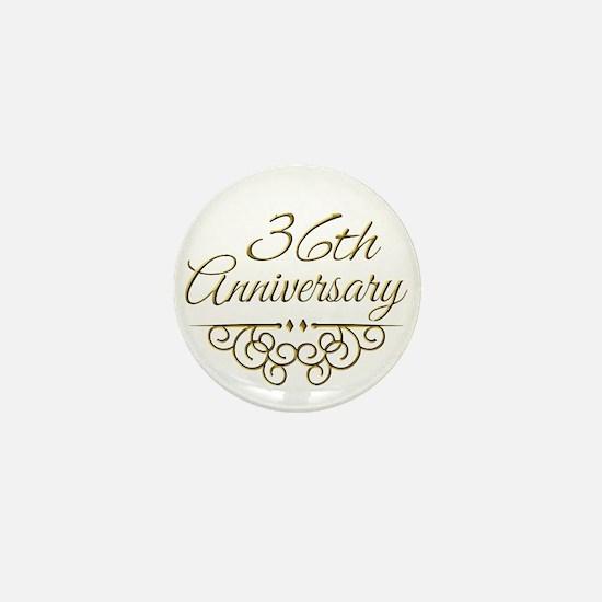 36th Anniversary Mini Button