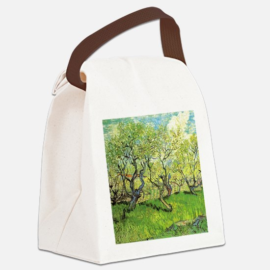 Orchard in Blossom, post impressi Canvas Lunch Bag
