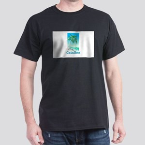 Catalina Island, California Dark T-Shirt
