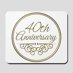 40th Anniversary Mousepad