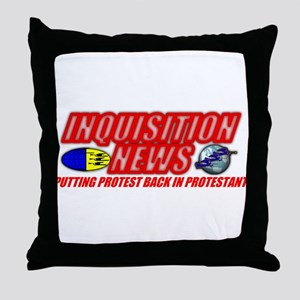 INQUISITION NEWS Throw Pillow