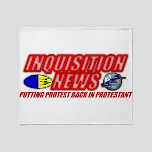 INQUISITION NEWS Throw Blanket
