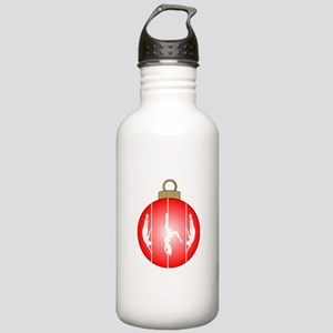 Christmas Pole Dancer Water Bottle