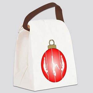 Christmas Pole Dancer Canvas Lunch Bag