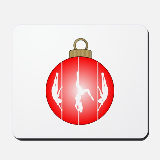 Christmas Pole Dancer Mousepad