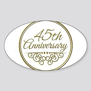 45th Anniversary Sticker