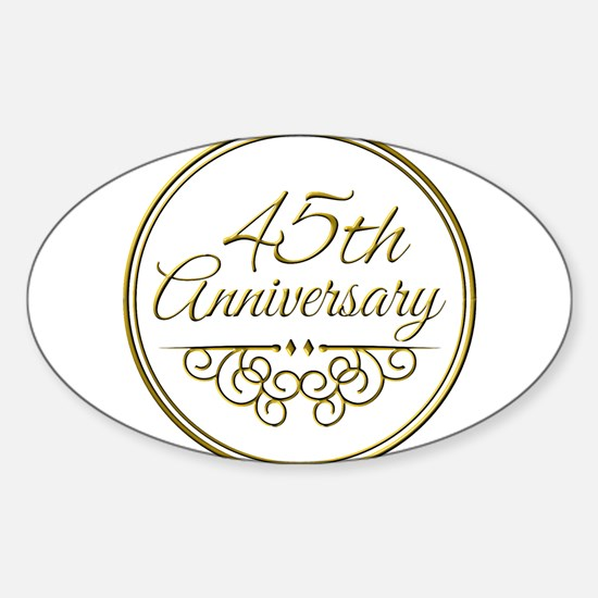 45th Anniversary Decal
