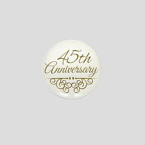 45th Anniversary Mini Button