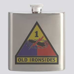 1st Armored Division Flask