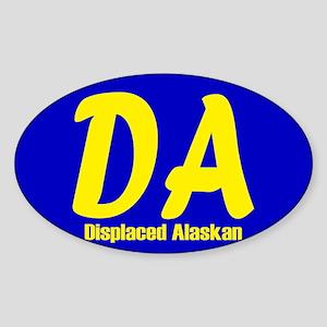 Alaska Sticker (Oval)