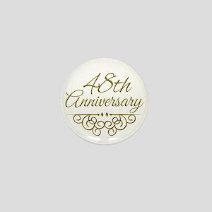 48th Anniversary Mini Button