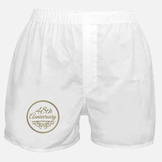 48th Anniversary Boxer Shorts