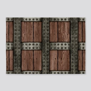 Medieval Chest 5'x7'Area Rug