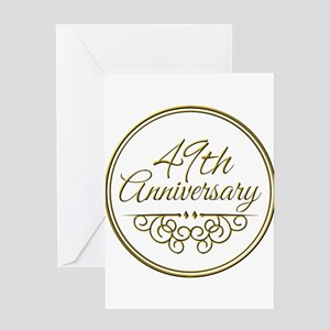 49th Anniversary Greeting Cards