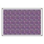 Purple Pattern Fractal Art Banner