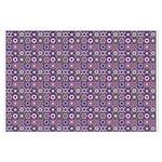 Purple Pattern Fractal Art Posters