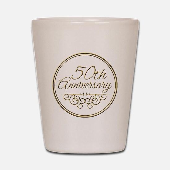 50th Anniversary Shot Glass
