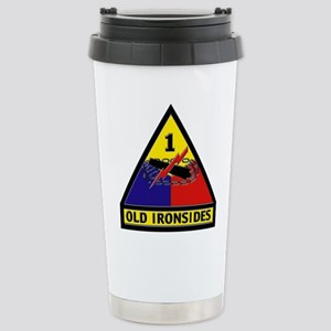 1st Armored Division Stainless Steel Travel Mug