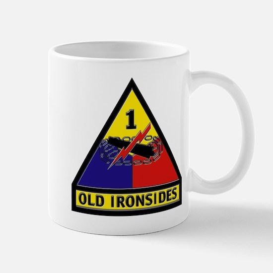 1st Armored Division Mug Mugs