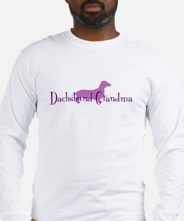 Dachshund Grandma Long Sleeve T-Shirt