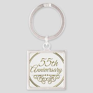 55th Anniversary Keychains
