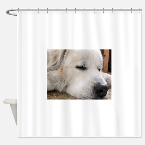 Great Pyrenees Shower Curtain