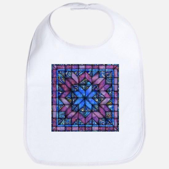 Purple Quilt Bib