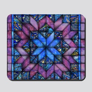 Purple Quilt Mousepad