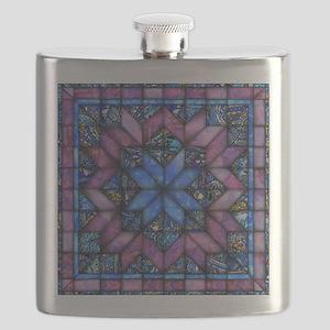 Purple Quilt Flask