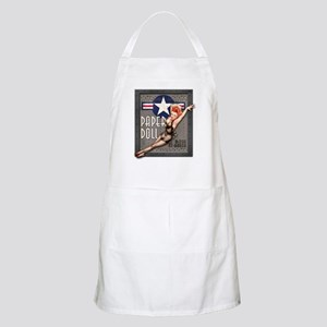 Paper Doll B-25 WWII Nose Art Apron