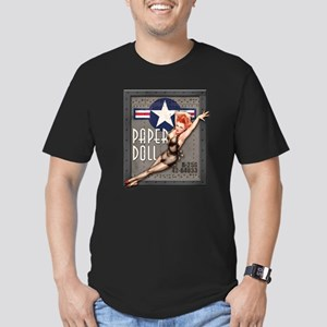 Paper Doll B-25 WWII Nose Art T-Shirt