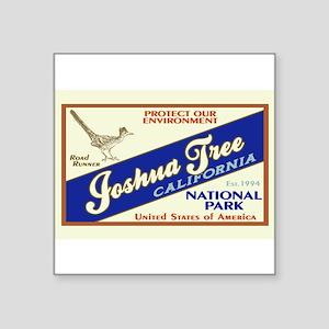 Joshua Tree (Road Runner) Rectangle Sticker