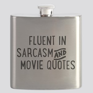 Fluent in Sarcasm and Movie Quotes Flask