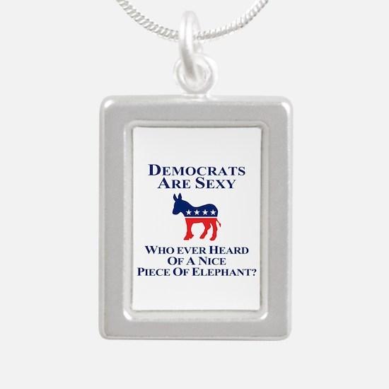 Democrats Are Sexy Necklaces