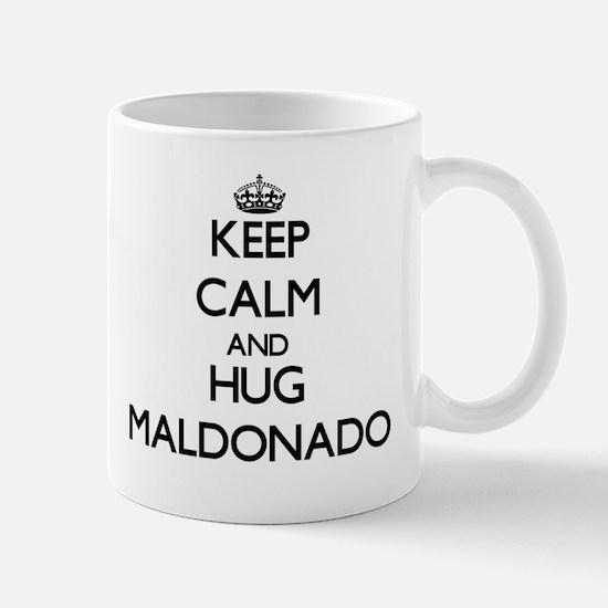 Keep calm and Hug Maldonado Mugs